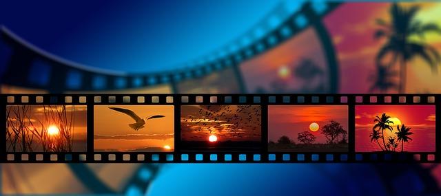 film s různými obrázky