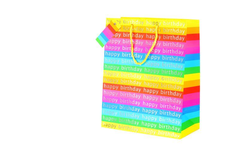 potištěná taška barevná